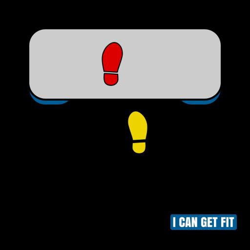 Basic Left 01 - Step Aerobics