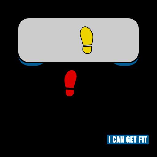Basic Left 03 - Step Aerobics